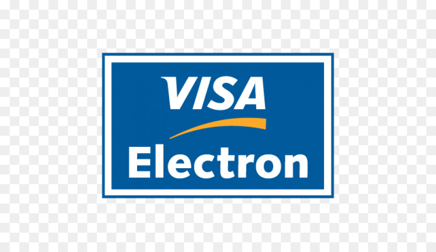 Visa-Electron-Logo Kreditkarte - Visum png herunterladen - 6*6