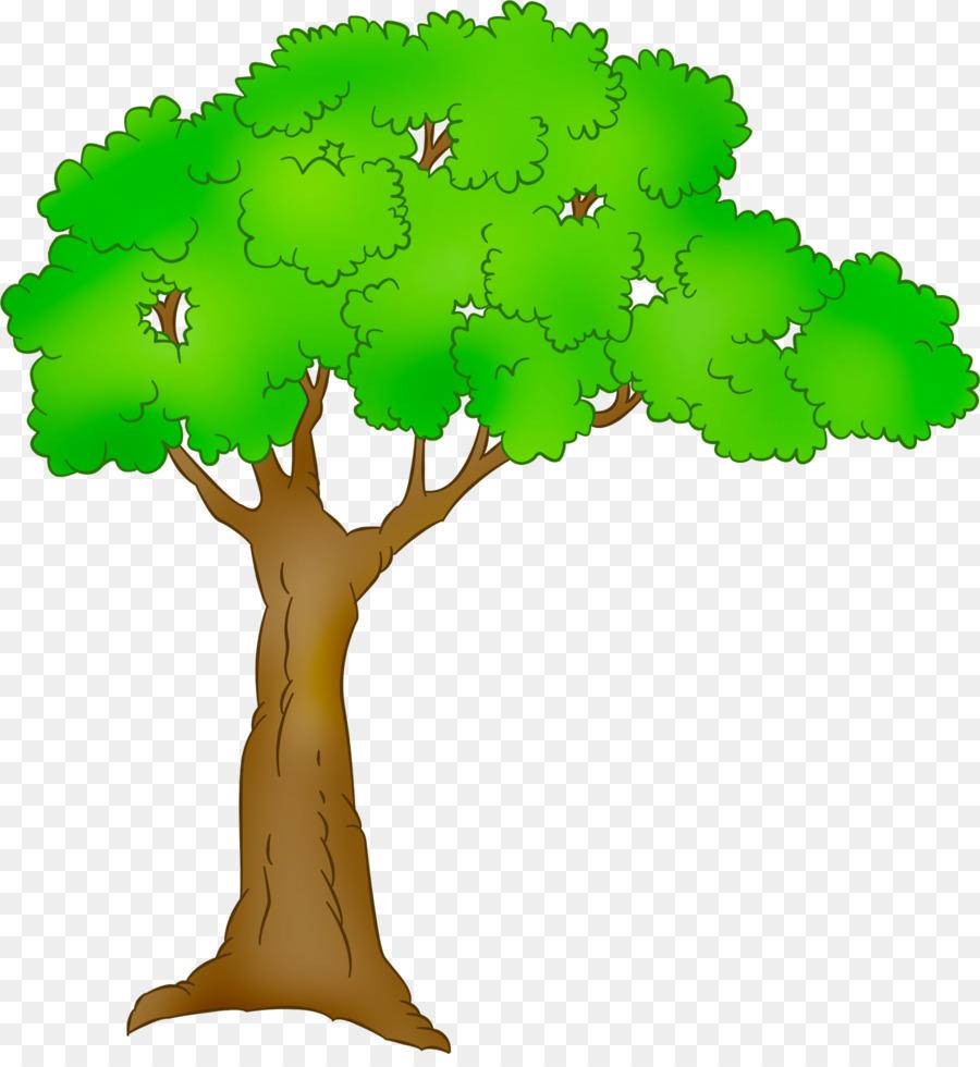 Cartoon Baum