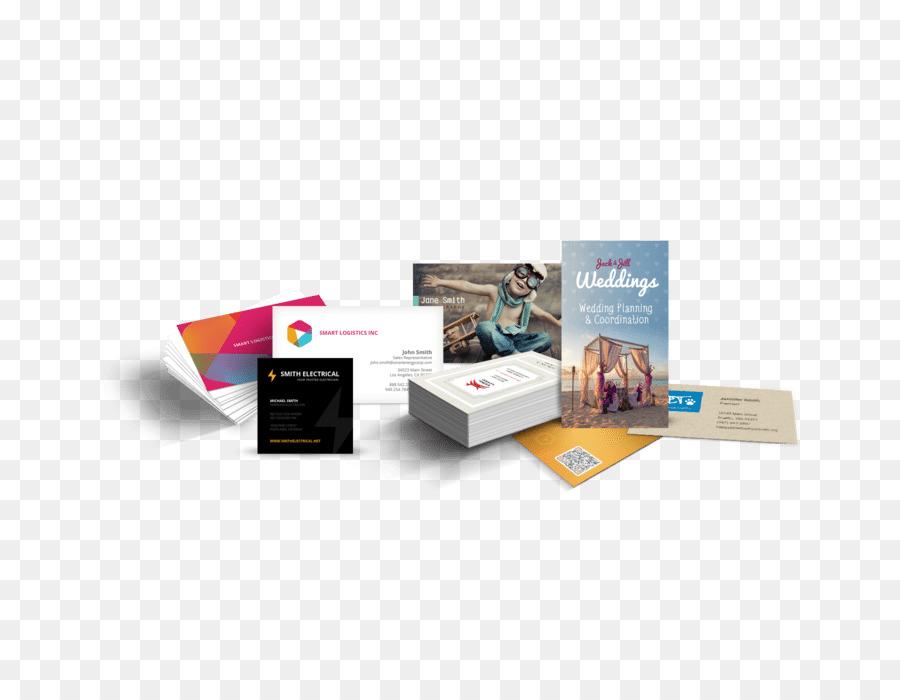 Papier Visitenkarten Drucken Flyer Broschüre Visitenkarten