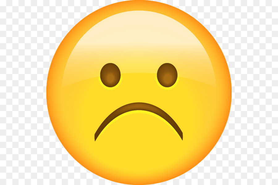 Trauer-Smiley-Emoji Emoticon-Gesicht - traurig png