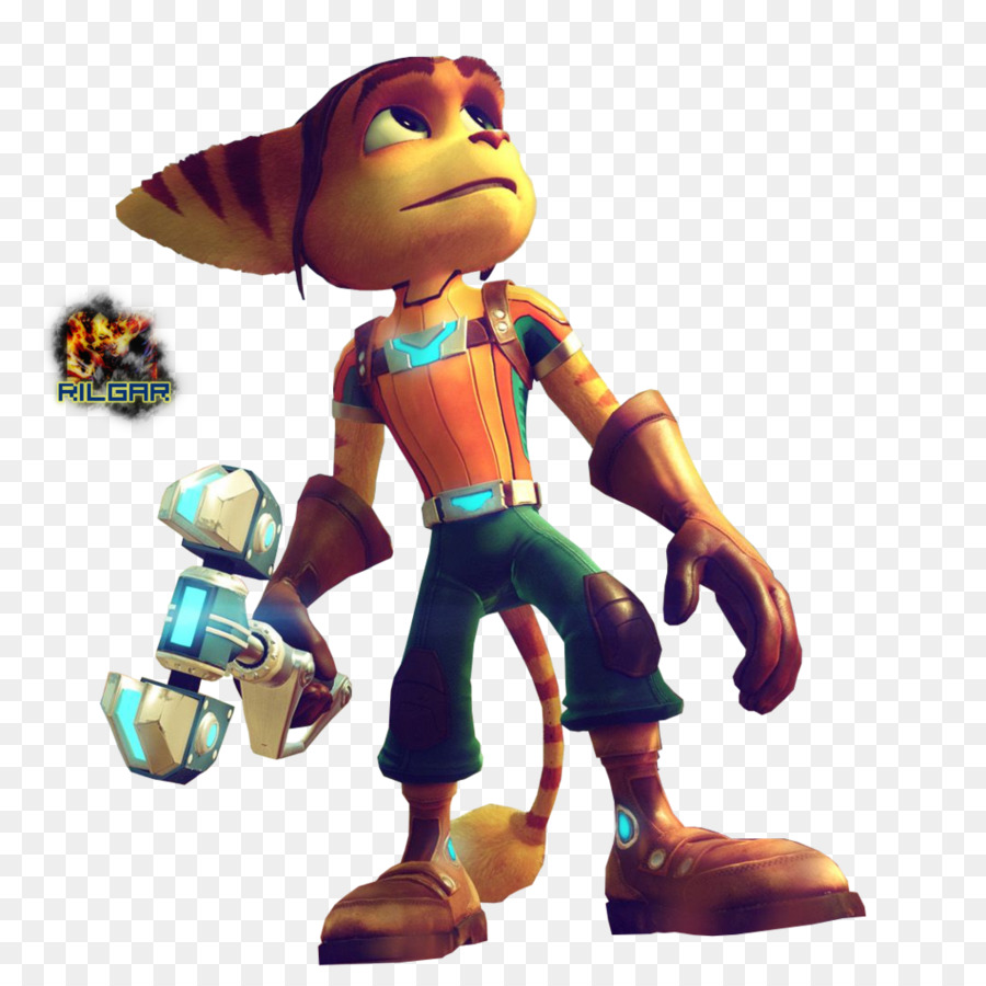 Ratchet Clank Toy Png Download 1024 1014 Free Transparent