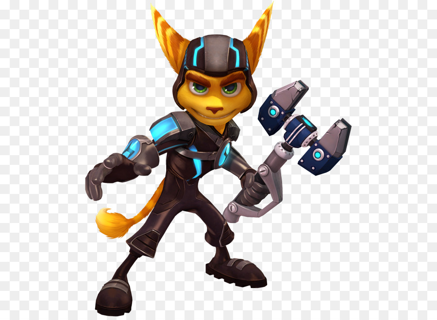 Ratchet Clank Toy Png Download 550 653 Free Transparent