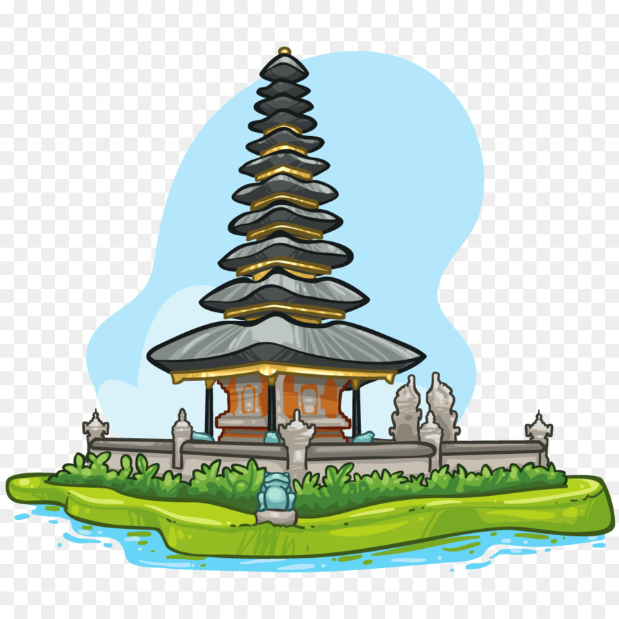 23+ Pura Bali Cartoon Images