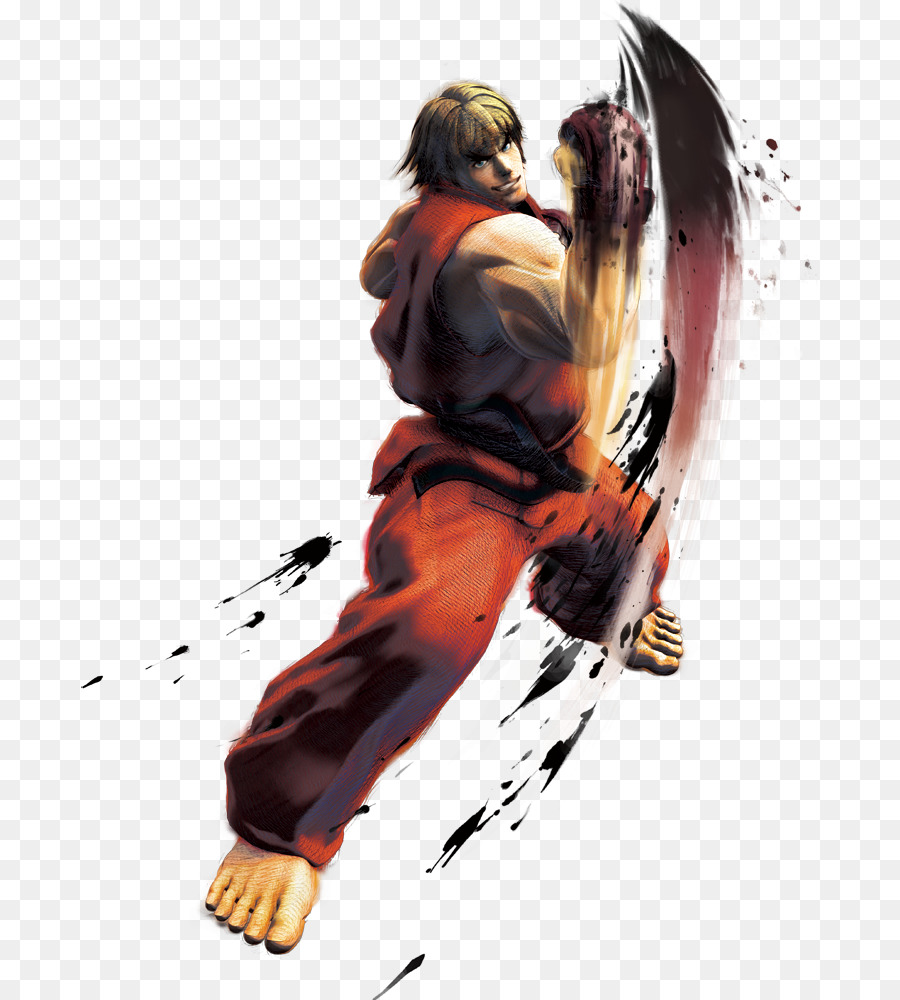 transparent street fighter ryu png