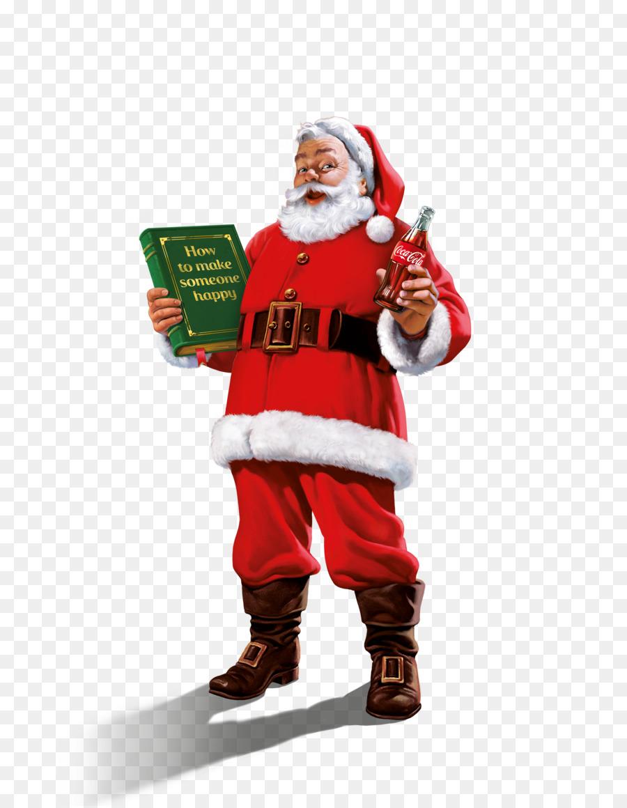 Coca Cola Babbo Natale.Coca Cola Di Natale Babbo Natale In Piedi Babbo Natale Scaricare Png Disegno Png Trasparente Personaggio Png Scaricare