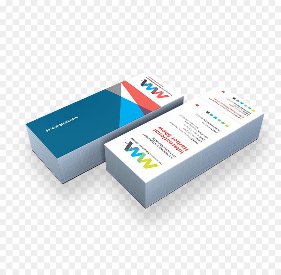 Papier Drucken Visitenkarte Visitenkarten Mockup