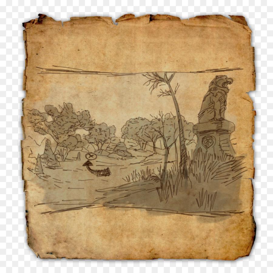 The Elder Scrolls Online Schatz Karte World Map - Piraten ...