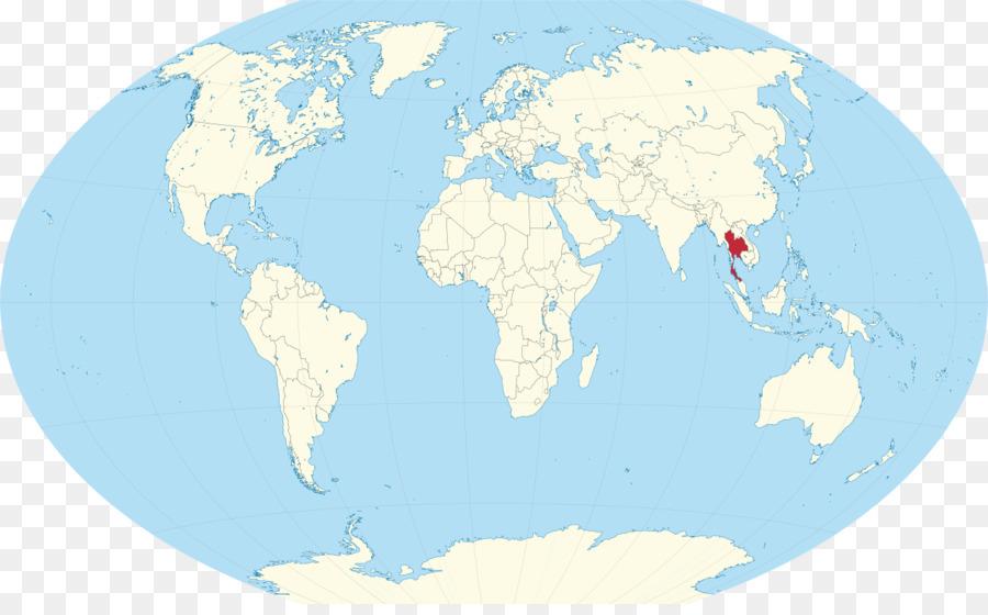 Weltkarte Globus Kolumbien Thailand Png Herunterladen 1280 782