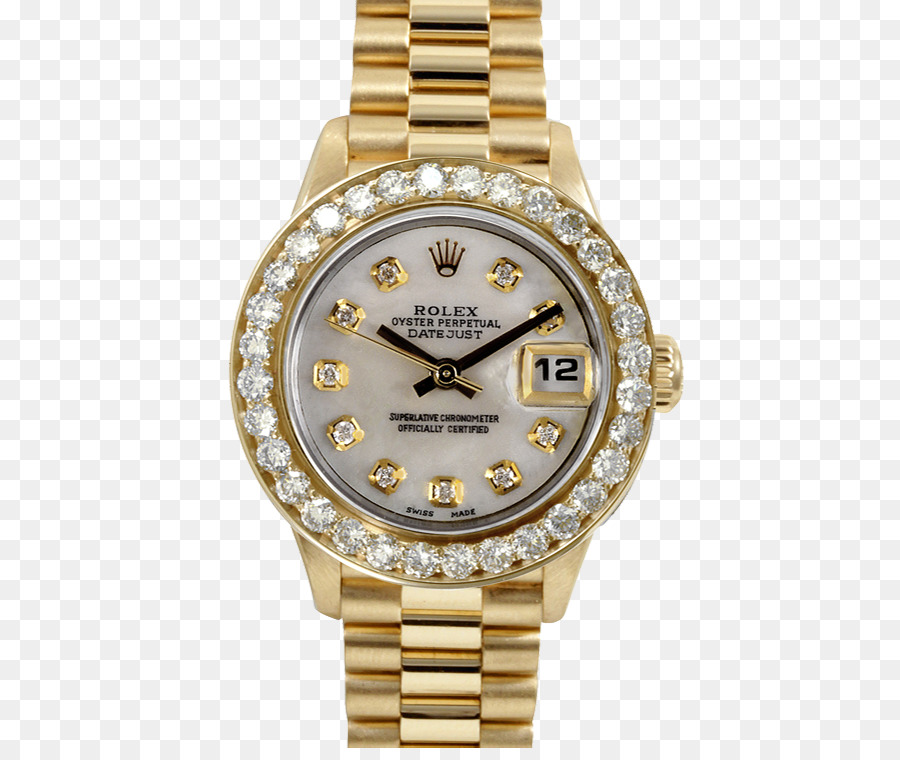 Gold Watch png download , 748*748 , Free Transparent Rolex