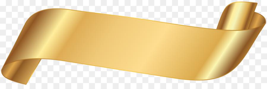 Gold Ribbon Ribbon png download - 8000*2576 - Free ...