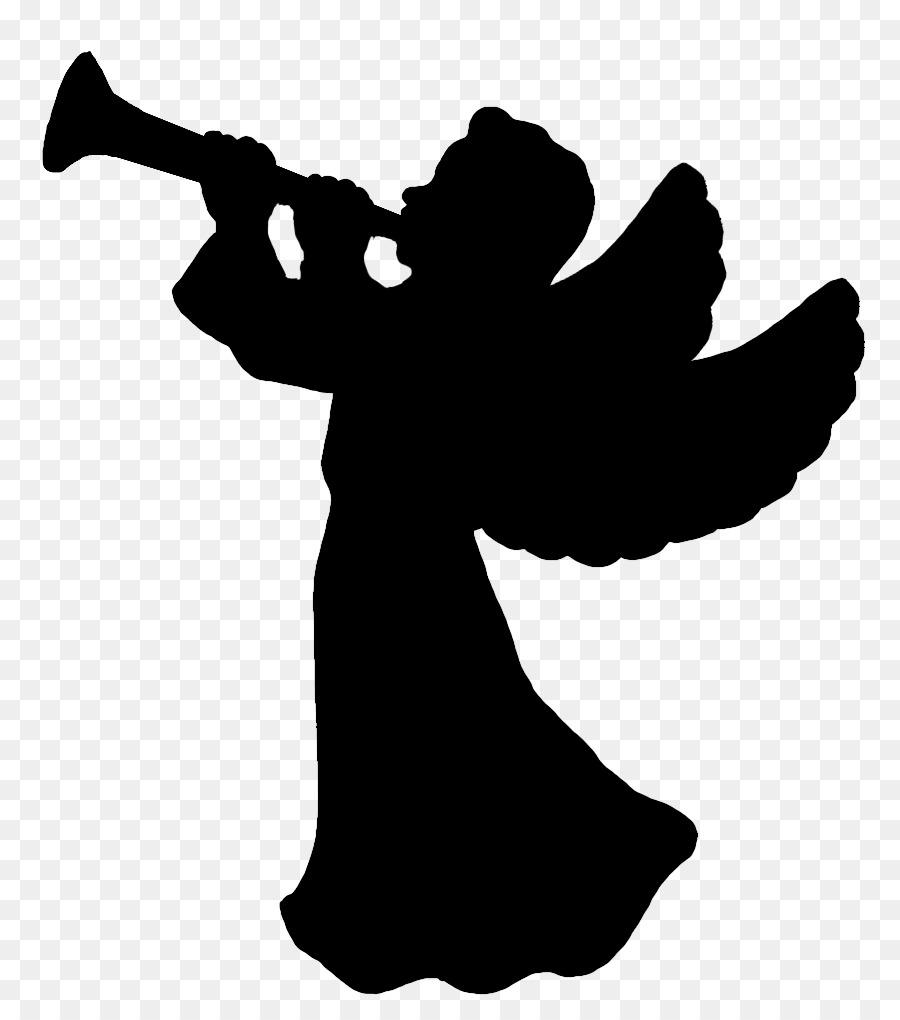 Weihnachts Silhouette Engel Clip Art Sillhouette Png