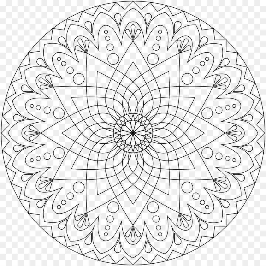 Malbuch Mandala Malvorlagen Kostenlose Meditation Kind Kind Png