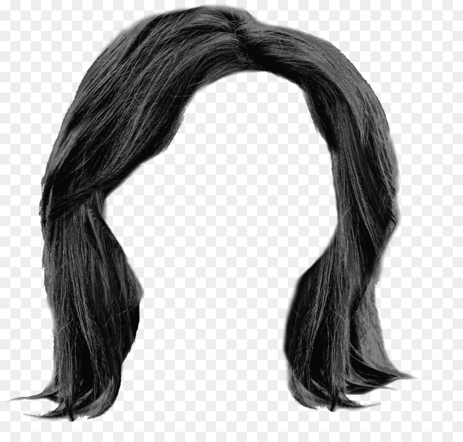 Schwarze lange haare frisuren