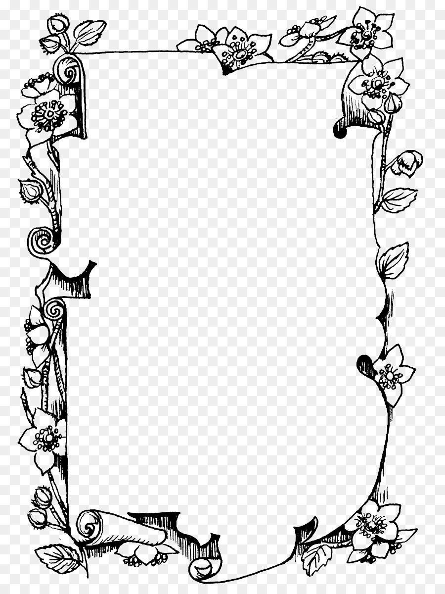 Cornici Disegno Bianco E Nero.Cornici Per Foto In Bianco E Nero Di Disegno Monocromatico