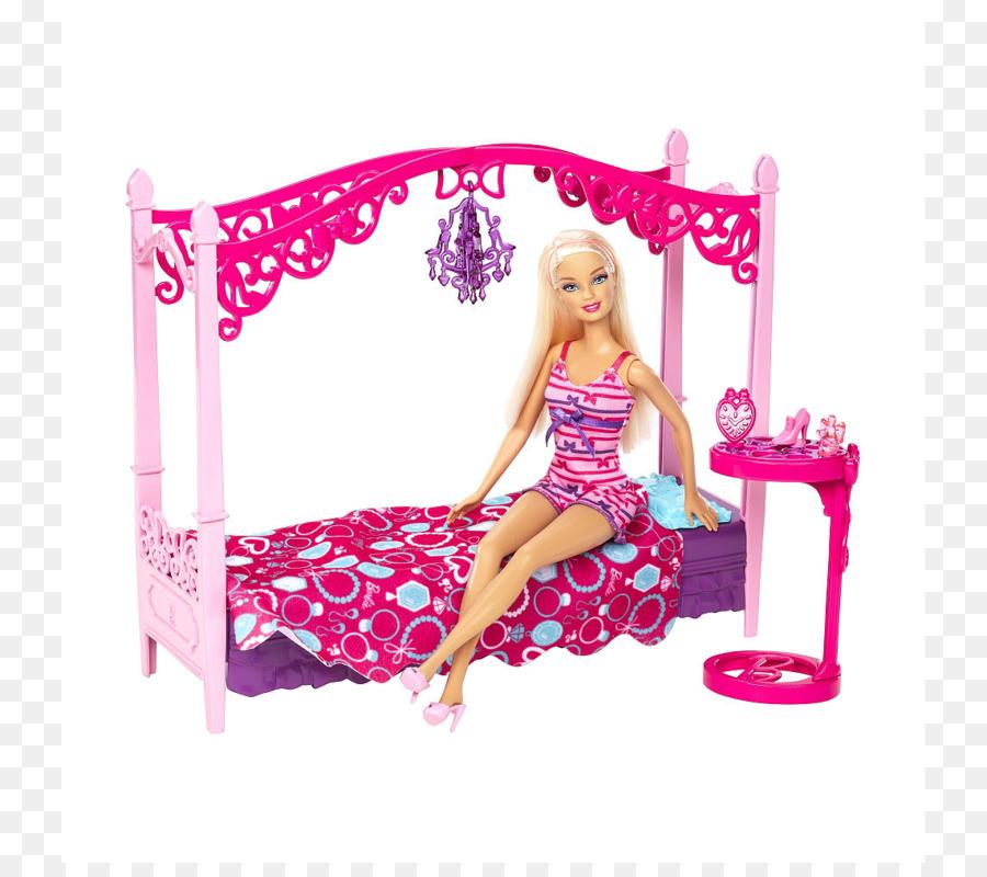 Barbie Doll Set Di Mobili Camera Da Letto Skipper - Barbie ...