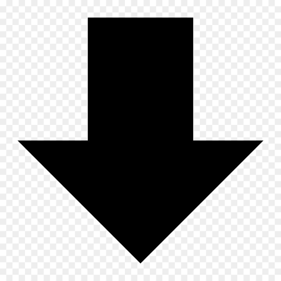 Down Arrow Symbol png download - 1024*1024 - Free Transparent ...