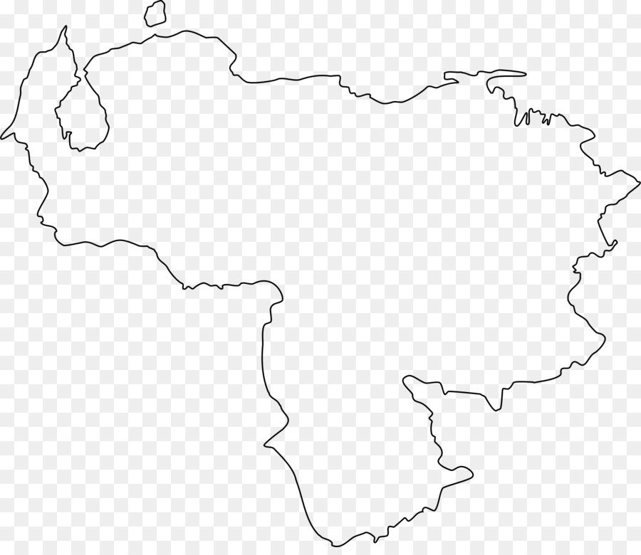 Flagge von Venezuela Leere map Clip art - Kolumbien png ...