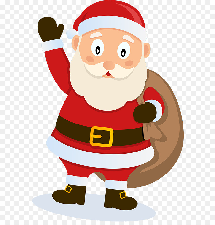 Christmas Gift Cartoon png download - 641*928 - Free Transparent Santa  Claus png Download. - CleanPNG / KissPNG
