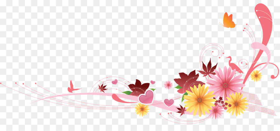 Flowers Background Free Png Download 1600 722 Free