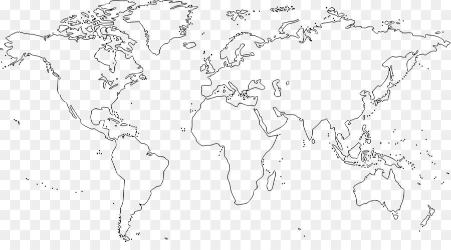 Cartina Mondo Vuota.Mondo Mappa Del Mondo Mappa Vuota Mappa Del Mondo Scaricare Png Disegno Png Trasparente Linea Arte Png Scaricare