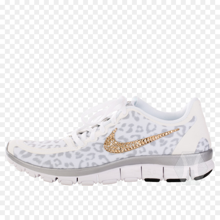 Nike Free Schuh Sneakers Leopard Laufschuhe png