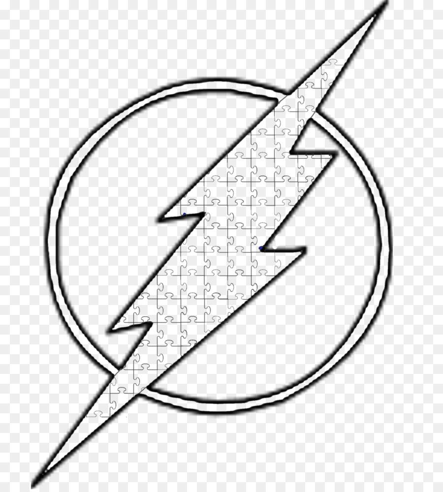 Linea Arte Eobard Thawne Il Simbolo Di Flash Disegno Cancro
