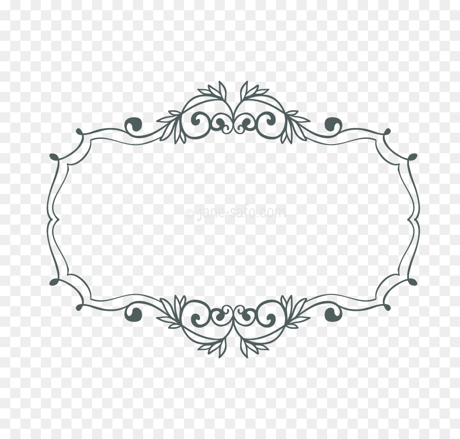 Border Black And White Png Download 850 850 Free Transparent Picture Frames Png Download Cleanpng Kisspng