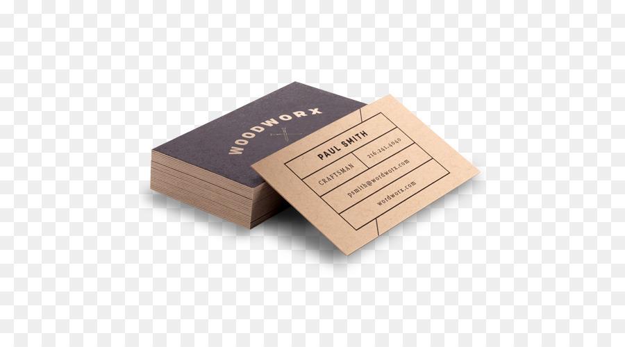 Kraftpapier Visitenkarten Drucken Cimpress Individuelle
