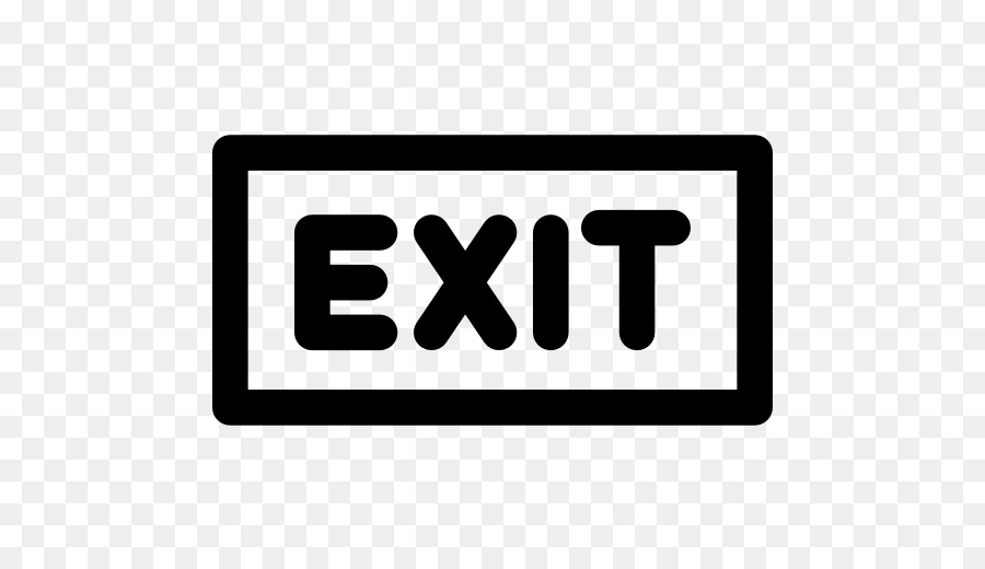 Emergency Exit Signs 11, Buy Clip Art - Us Exit Sign - Free Transparent PNG  Clipart Images Download