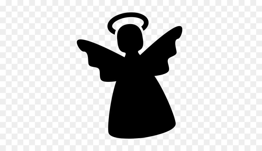 Computer Icons Silhouette Engel Weihnachten Clip Art Engel