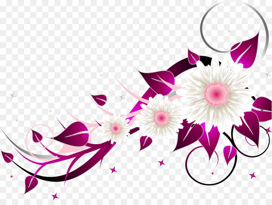 Floral Wedding Invitation Background Png Download 2487