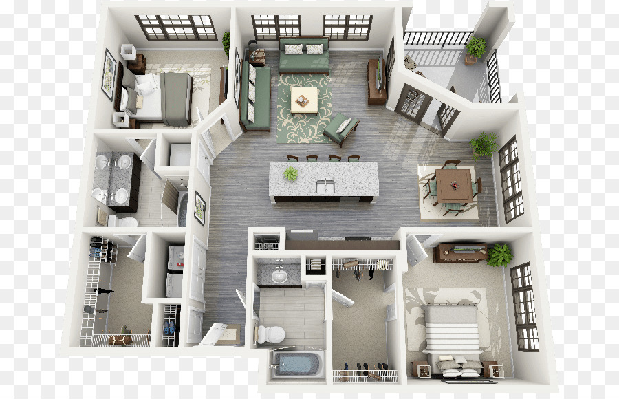 Die Sims 4 Die Sims 2-Haus-plan-Interior-Design ...