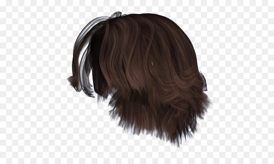 Frisur Perücke Bun Braune Haare Kurze Haare Png
