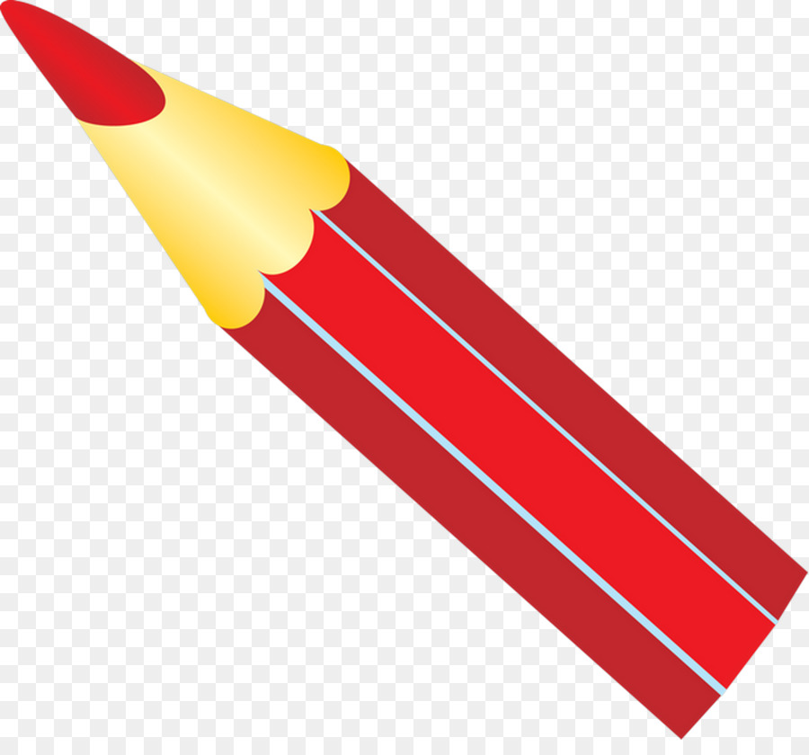 Картинка на прозрачном фоне красный карандаш