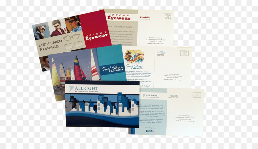 Werbung Visitenkarten Marketing E Mail Marketing Postkarte