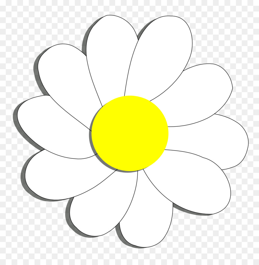 Black And White Flower png download - 1331*1358 - Free Transparent ...