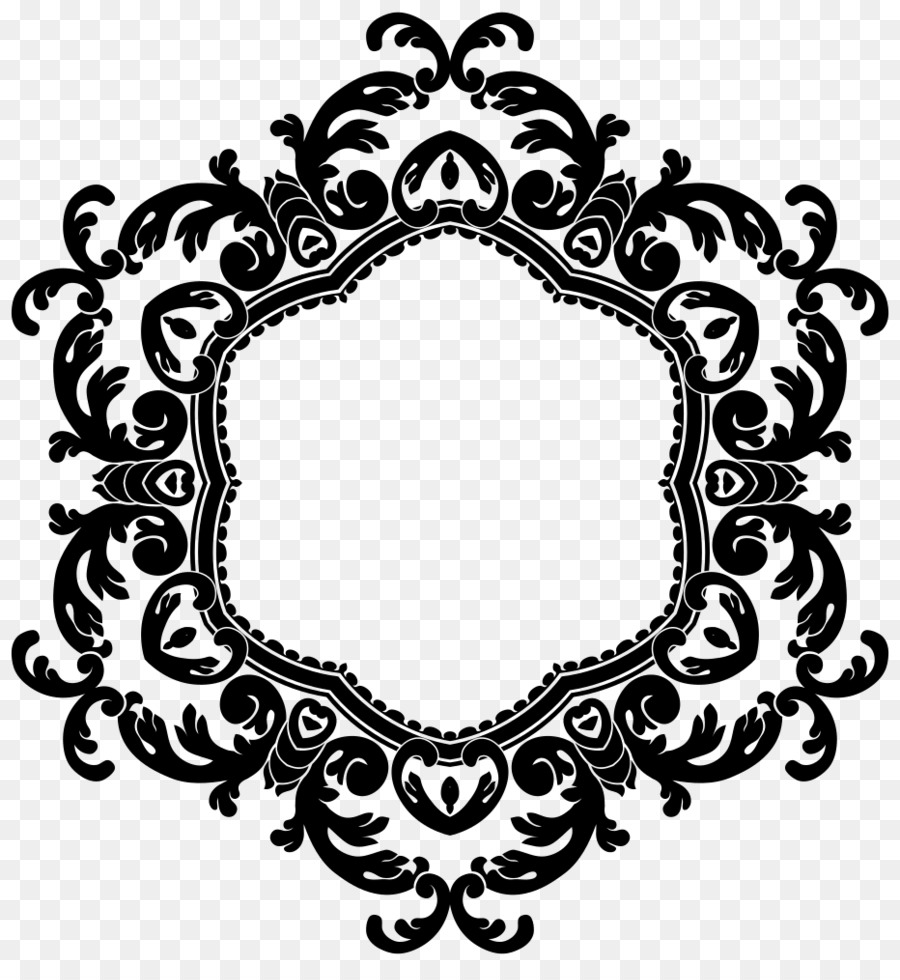 black and white flower png download 932 1000 free transparent borders and frames png download cleanpng kisspng clean png