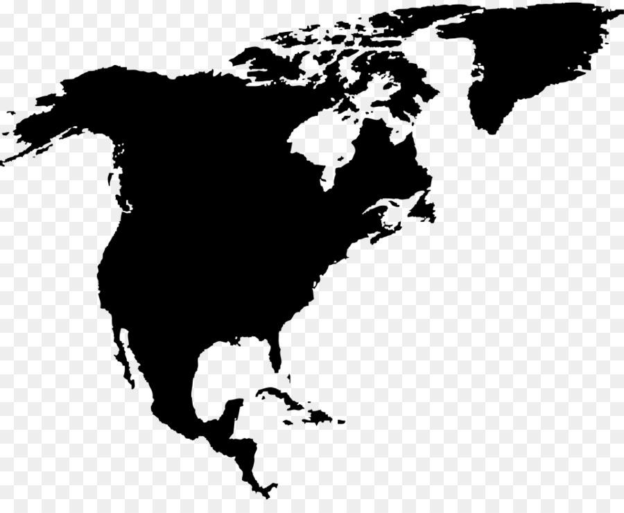 Vereinigten Staaten Sudamerika Lateinamerika Leer Karte Welt