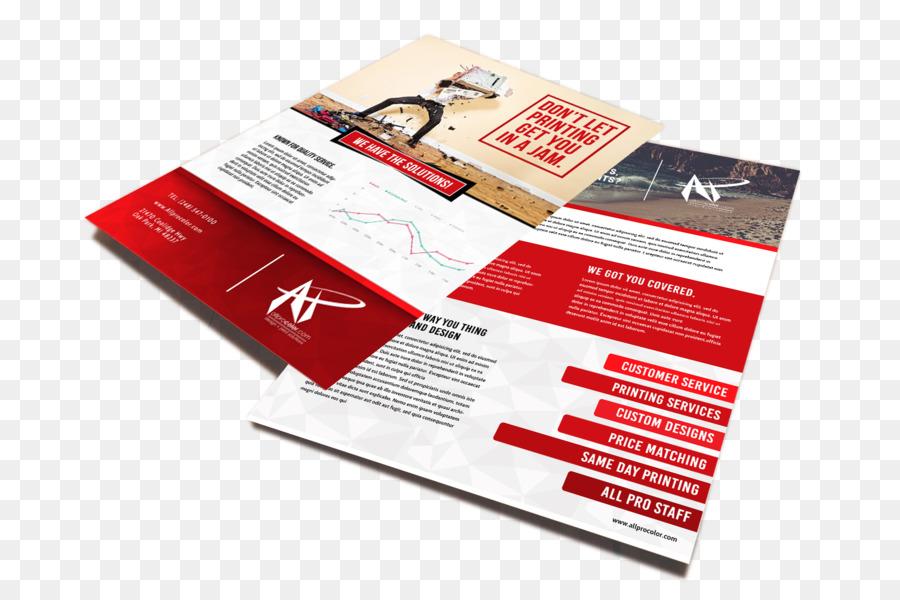 Papier Werbung Visitenkarten Drucken Corporate Flyer Png