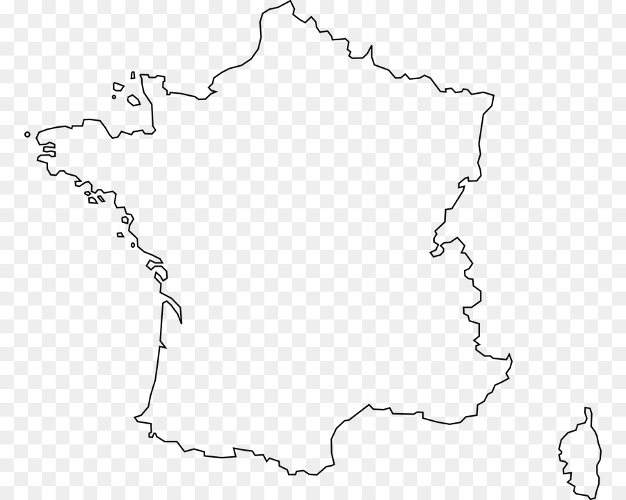 carte de france vierge png Black Line Background png download   830*720   Free Transparent