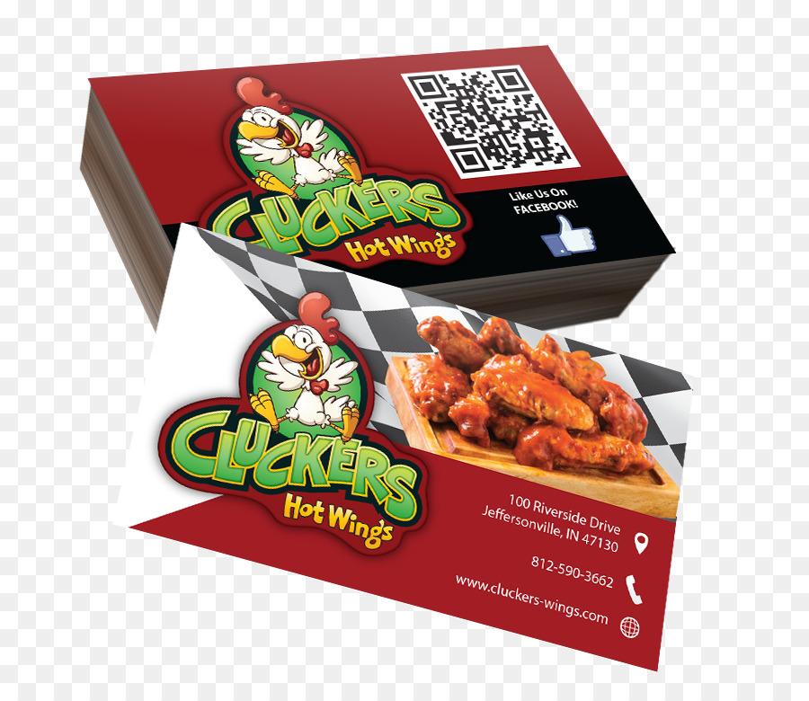 Visitenkarten Drucken Werbung Lebensmittel Dekoration