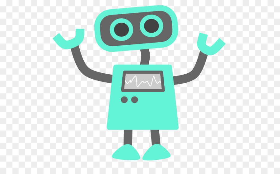 Green Background Png Download 600 544 Free Transparent Robot