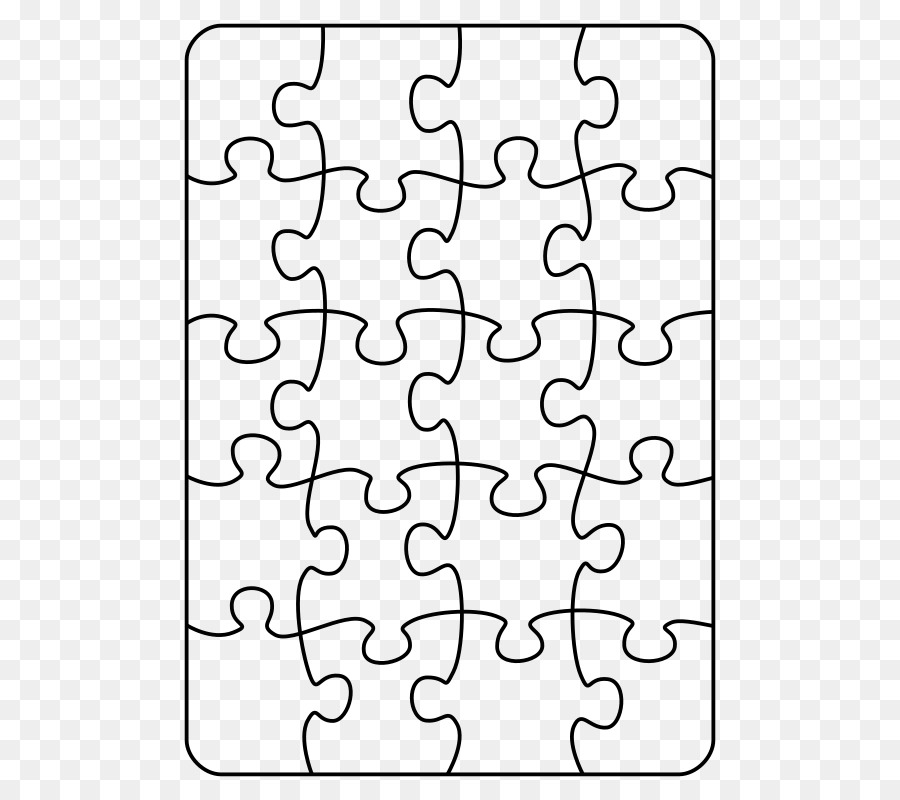 Puzzle Template Png Download 566 800 Free Transparent Jigsaw