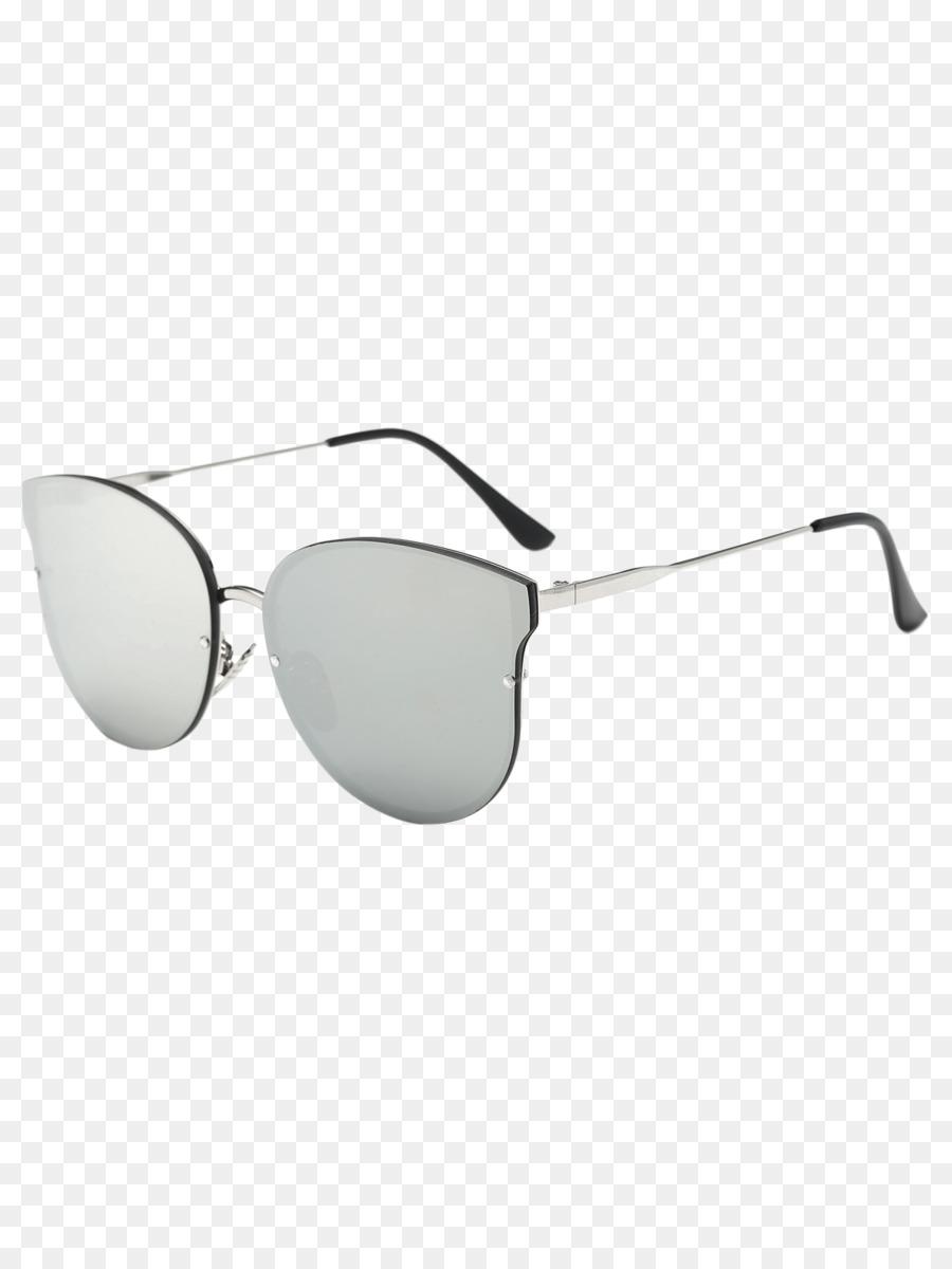 Sonnenbrille silver coloured