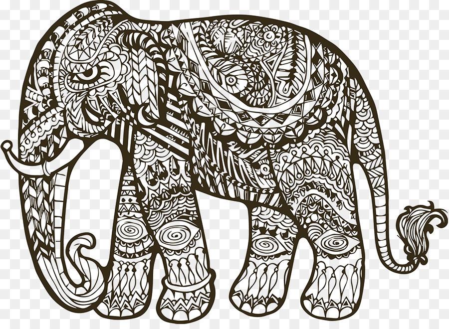 40 mandalas für erwachsene elefant  besten bilder von