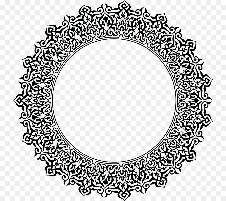 Black And White Frame Png Download 796 800 Free Transparent