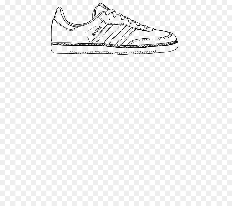 classic fit ecba5 d95ad Sneakers Zeichnen Schuh - samba Vektor png herunterladen ...