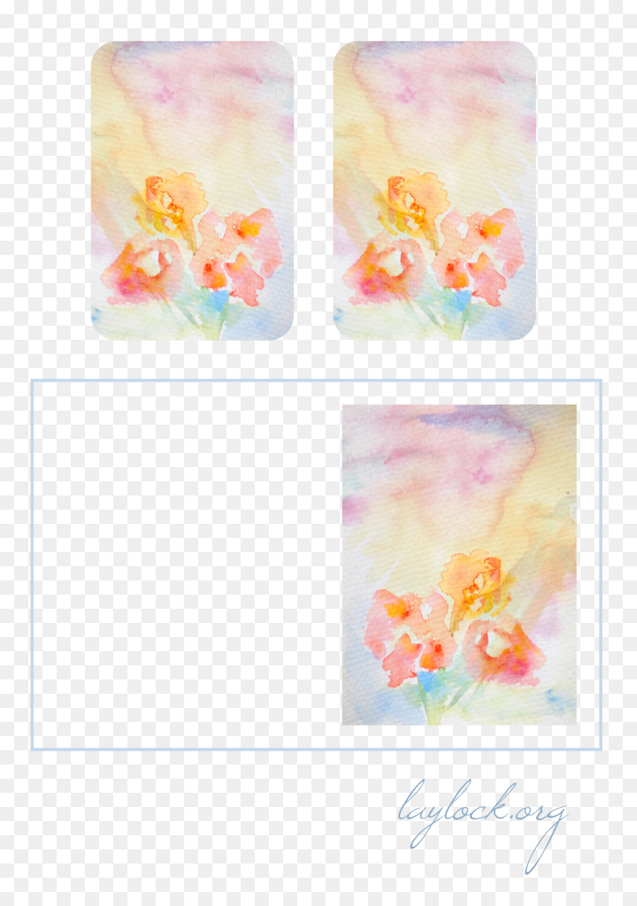 Watercolor Flower Background Png Download 2480 3508 Free