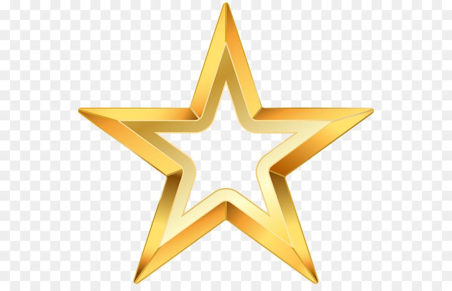 Fünf Stern Clip Art Falt Vorlage Png Herunterladen 600