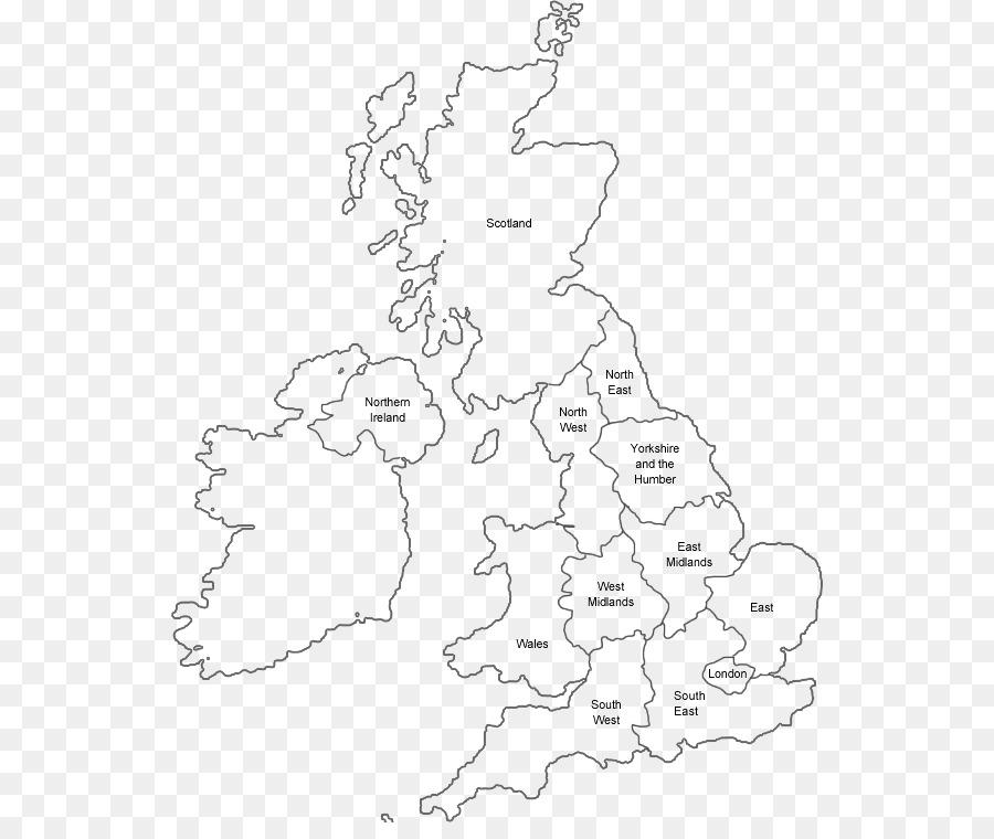 Cartina Gran Bretagna Bianco E Nero.Inghilterra Cartina In Bianco E Nero Uk Mappa Della Contea Scaricare Png Disegno Png Trasparente Linea Arte Png Scaricare